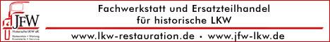 JFW Historische LKW - Restauration - Ersatzteilhandel - Werkstatt